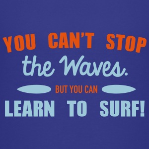 Learn to surf T-shirts - Premium-T-shirt tonåring