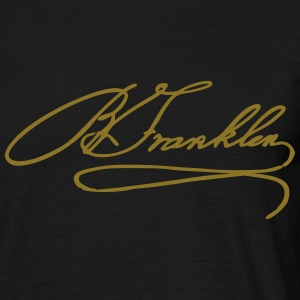Benjamin Franklin Tee shirts - T-shirt Homme
