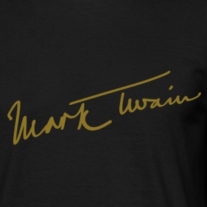 Mark Twain T-shirts - Herre-T-shirt