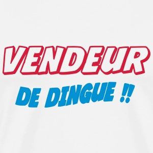 Vendeur de dingue !! T-shirts - Herre premium T-shirt