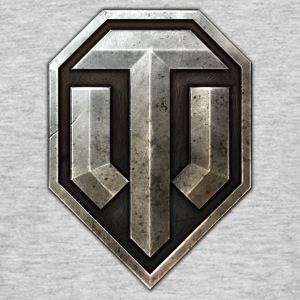 World of Tanks Metal Logo Homme tee shirt - T-shirt Homme