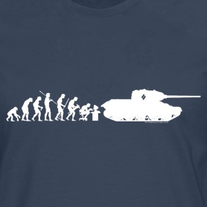 World of Tanks Darwin Men Longsleeve - Herre premium T-shirt med lange ærmer