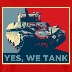 World of Tanks Yes, We Tank Men T-Shirt - Men's Premium T-Shirt