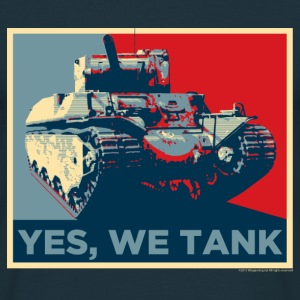 World of Tanks Yes, We Tank Men T-Shirt - T-skjorte for menn