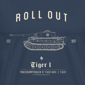 World of Tanks Roll Out Tiger Men T-Shirt - Premium T-skjorte for menn