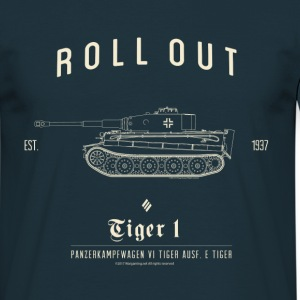 World of Tanks Roll Out Tiger Men T-Shirt - T-shirt herr