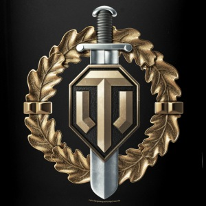 World of Tanks Voin Medal mug - Ensfarvet krus