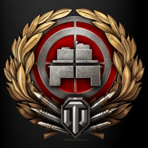 World of Tanks Tankist Snyper Medal Tasse - Tasse einfarbig