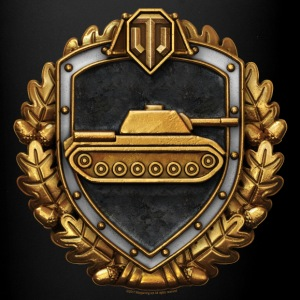World of Tanks Stalnaia Stena Medal Tasse - Tasse einfarbig