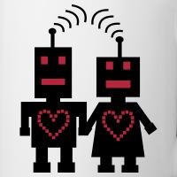 "Nerd T-Shirts mit ""Roboter Liebe"""