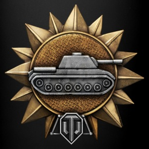 World of Tanks Razvedtchik Medal mug - Ensfarvet krus