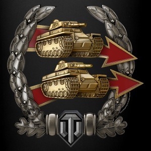 World of Tanks Podderjka Medal Tasse - Tasse einfarbig