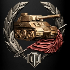 World of Tanks Invader Medal mug - Ensfarvet krus