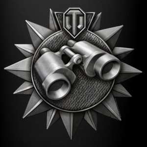 World of Tanks Dzornui Medal mug - Ensfarvet krus