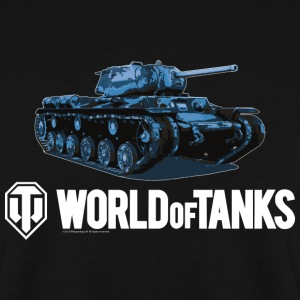 World of Tanks Blue Tank Homme sweat-shirt - Sweat-shirt Homme