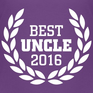 Best Uncle 2016 T-shirts - Premium-T-shirt tonåring