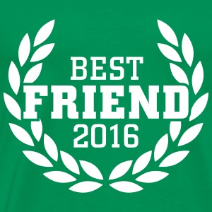 Best Friend 2016 T-shirts - Mannen Premium T-shirt