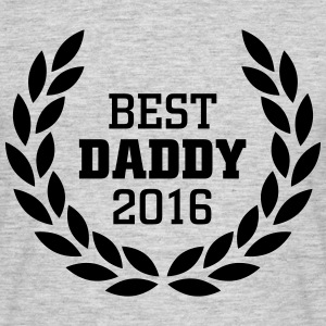Best Daddy 2016 T-shirts - Mannen T-shirt