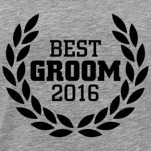 Best Groom 2016 T-Shirts - Men's Premium T-Shirt