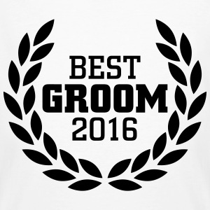 Best Groom 2016 T-shirts - Ekologisk T-shirt herr