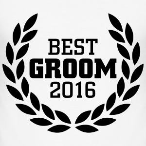 Best Groom 2016 T-shirts - slim fit T-shirt