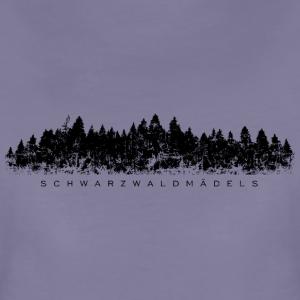 Schwarzwaldmädels mit Schwarzwald