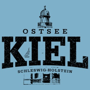Kiel Ostsee (schwarz oldstyle)