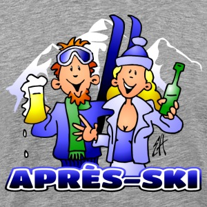 Après-ski party - Mannen Premium T-shirt