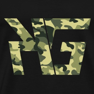 KG Forest Camo - Men's Premium T-Shirt