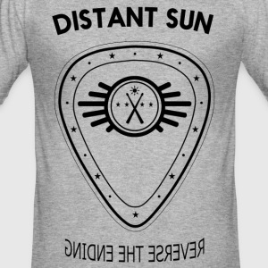 Distant Sun - Mens Slim Fit Grey - Men's Slim Fit T-Shirt