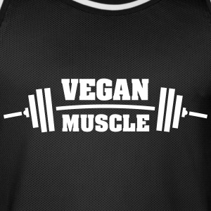 Vegan Muscle Sports wear - Men's Basketball Jersey