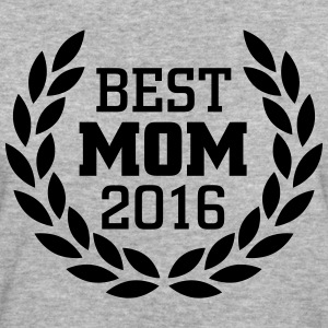 Best Mom 2016 T-shirts - Ekologisk T-shirt dam