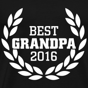 Best Grandpa 2016 T-Shirts - Men's Premium T-Shirt