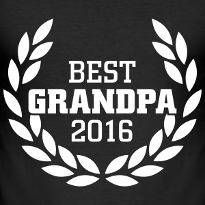 Best Grandpa 2016 T-shirts - slim fit T-shirt