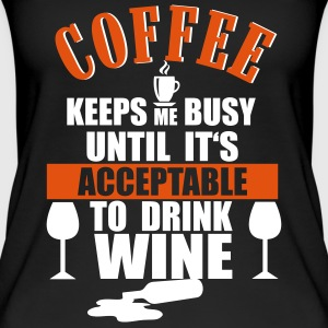 Coffee - Wine Tops - Women's Organic Tank Top