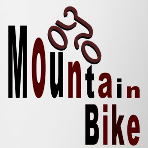 Mountain bike Mugs & Drinkware - Contrasting Mug