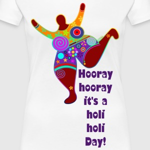 Holi Day - BIG MAMA 1 - Frauen Premium T-Shirt