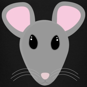 cute grey mouse Shirts - Kids' Premium T-Shirt