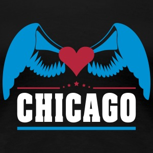 Chicago T-Shirts - Frauen Premium T-Shirt