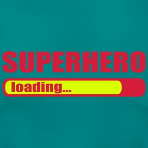 Superhero loading Superheld lädt T-Shirts - Frauen T-Shirt
