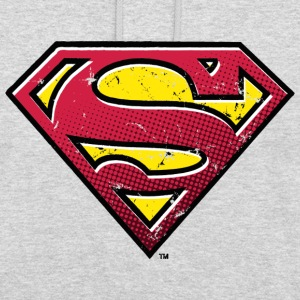 Superman Logo vintage Pull  - Sweat-shirt à capuche unisexe