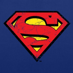 Superman Logo used look Stoffbeutel - Stoffbeutel