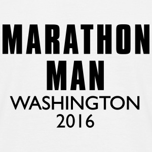 MARATHON MANN Washington - Männer T-Shirt