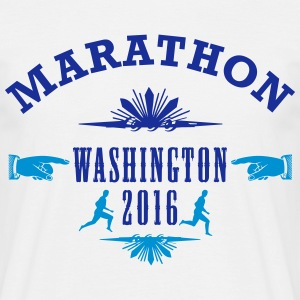 MARATHON Läufer - Men's T-Shirt