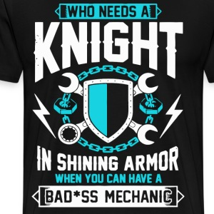 Badass Mechanic - Men's Premium T-Shirt