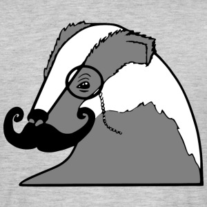 Sir Badger - Männer T-Shirt