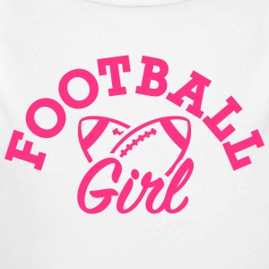 Football Baby Bodys - Baby Bio-Langarm-Body