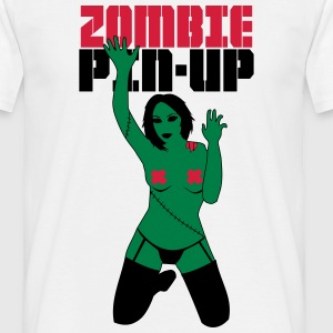 zombie PIN-UP  T-Shirts - Men's T-Shirt
