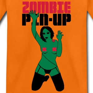 zombie PIN-UP  Shirts - Teenage Premium T-Shirt