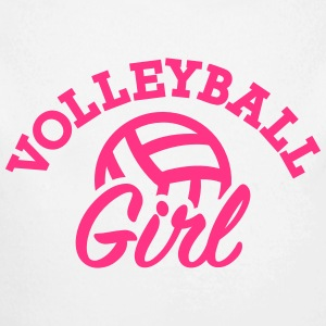 Volleyball Baby Bodys - Baby Bio-Langarm-Body